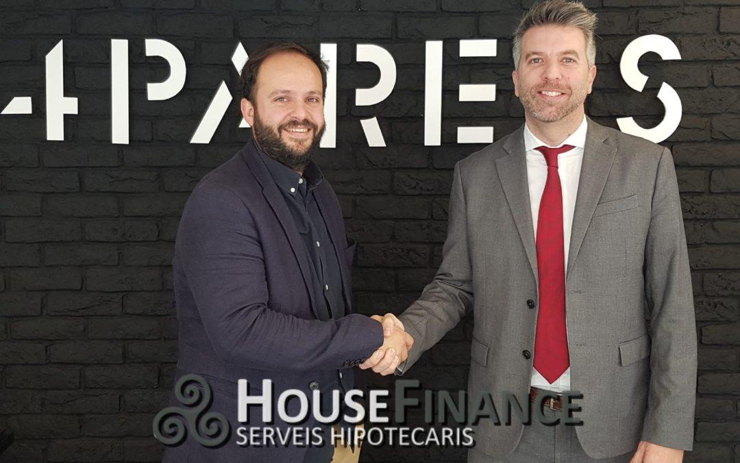 Nuevo acuerdo de colaboración con 4Parets Mataró.