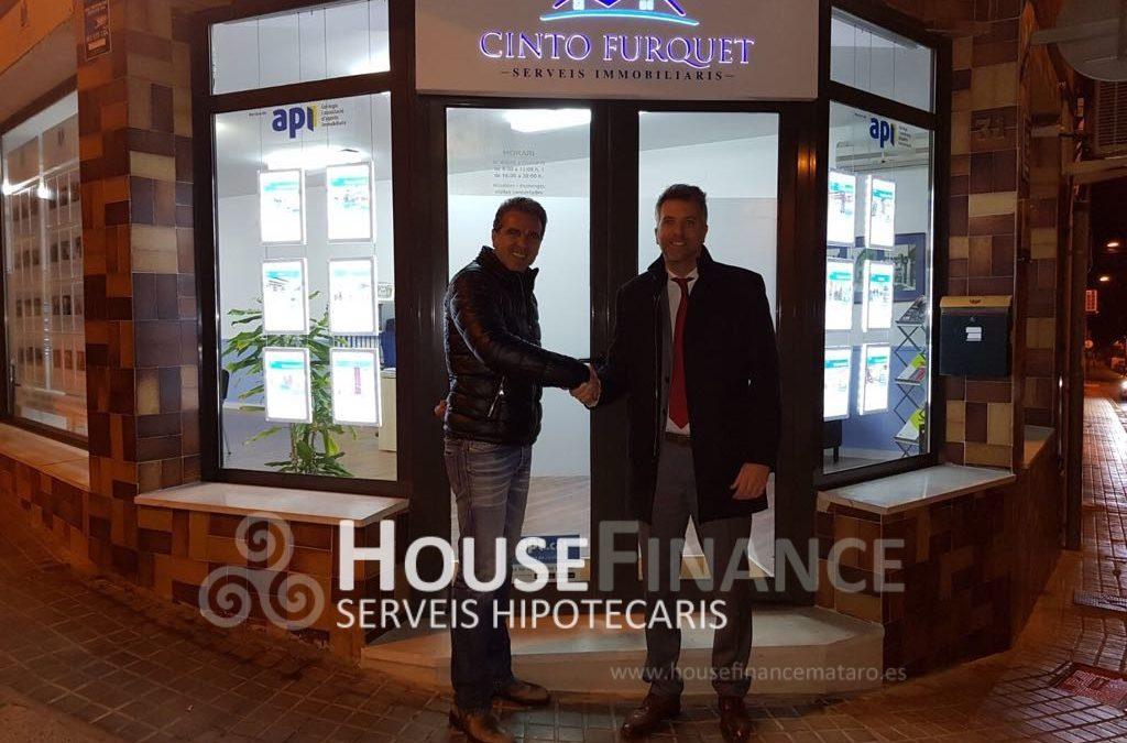 Visita a Serveis immobiliaris Furquet en Vilassar de Dalt.